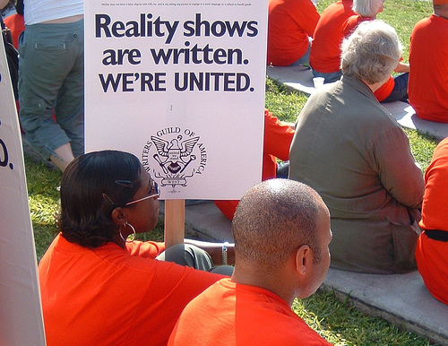 WGA Unity Rally, September 2006