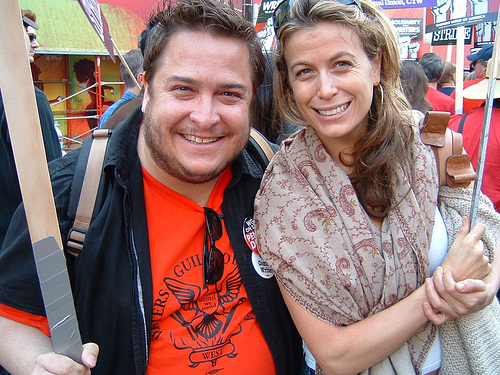 """Lost"" & ""Tell Me That You Love Me"" star Sonya Walger & me (Nov. 20, 2007)"