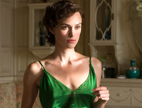 "Kiera Knightley in ""Atonement"""