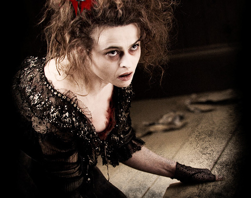 "Helena Bonham Carter in ""Sweeney Todd"" (Dec. 19, 2007)"