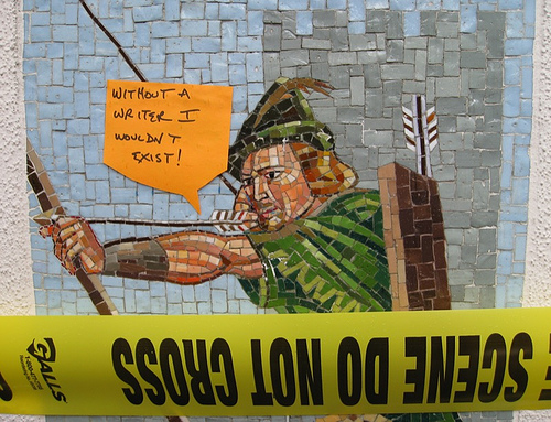 """Robin Hood"" mosaic @ the AMPTP (Dec. 18, 2007)"