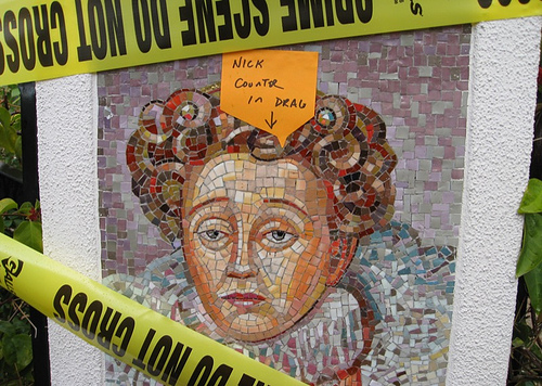 """The Virgin Queen"" mosaic @ the AMPTP (Dec. 18, 2007)"