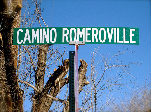 Camino Romero! What a cool street name!