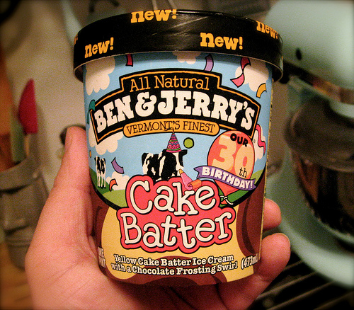 Ben Jerrys Newest Flavor Cake Batter Ice Cream