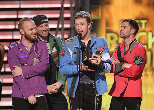 Coldplay at the Grammys!