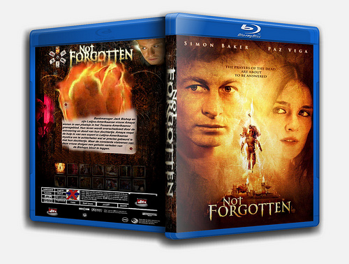 """Not Forgotten"" bootleg Blu Ray cover art"