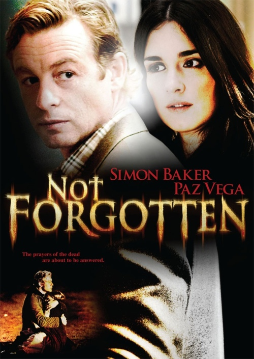 """Not Forgotten"" DVD cover art"
